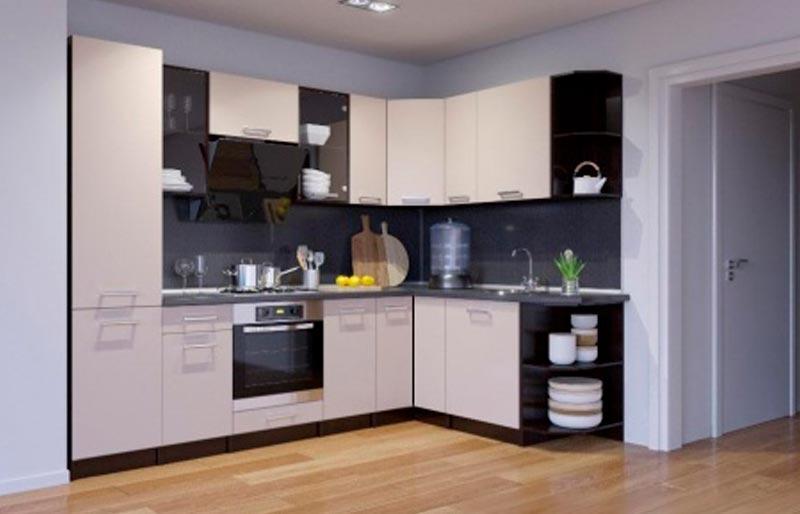 Плюсы и минусы угловых кухонь
