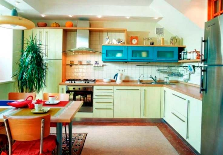 Как выбрать подходящий цвет для кухонной мебели?