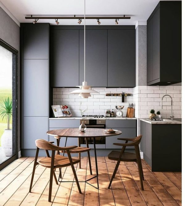 Кухни до потолка – современные модные тенденции