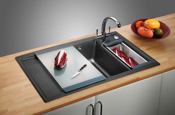 Как выбрать и где поместить мойку на кухне?