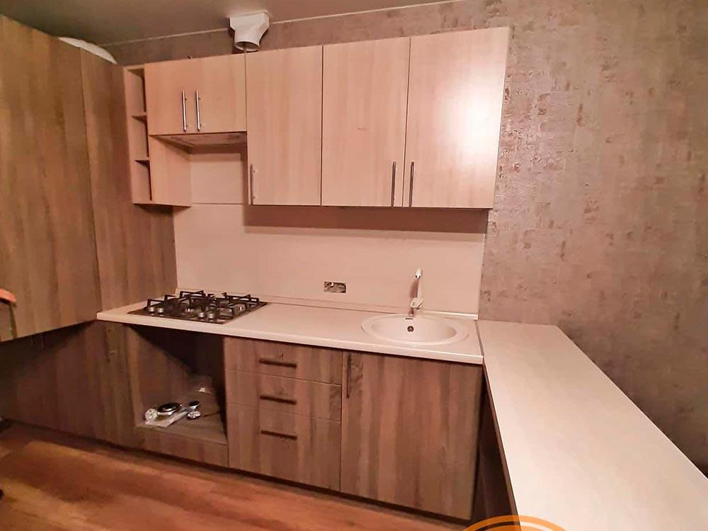 Кухня для съемной квартиры от компании 62 кухни